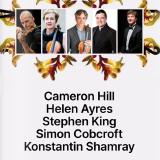 Cameron Hill, Helen Ayres, Stephen King, Simon Cobcroft & Konstantin Shamray