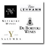 Nepenthe, Peter Lehmann, Yalumba & De Bertoli
