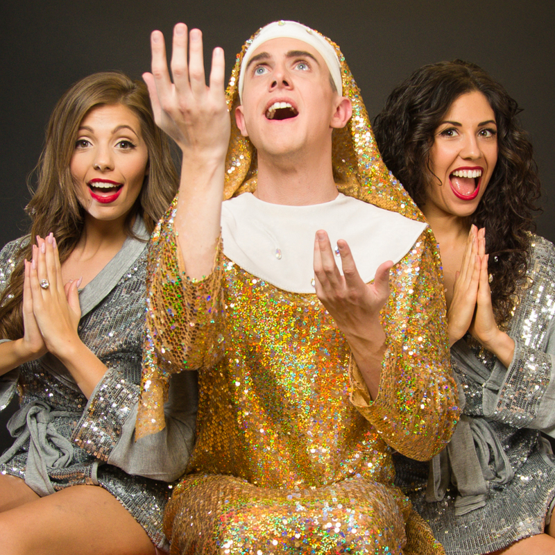 2 guys and a Girl God save the queens Adelaide Fringe 2019