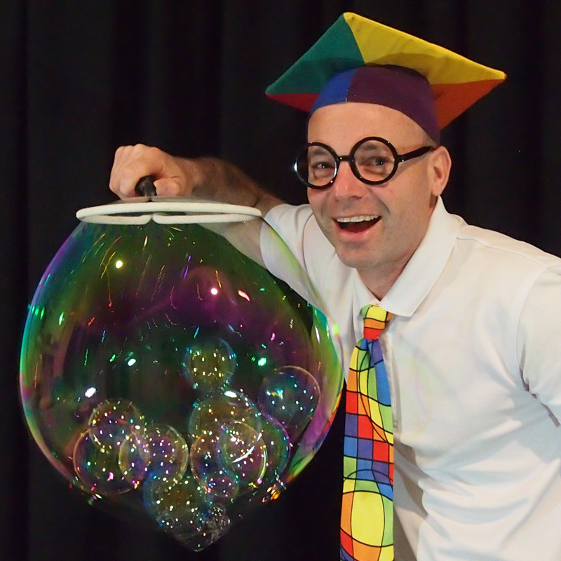 Scientific Bubble Show Adelaide Fringe