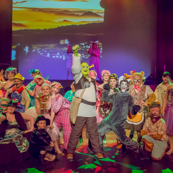 Shrek the Musical Adelaide Youth Theatre 2018